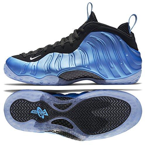 cee067c50e664 Nike Men s Air Foamposite One Blue Black White 314996-402 (Size  9.5)