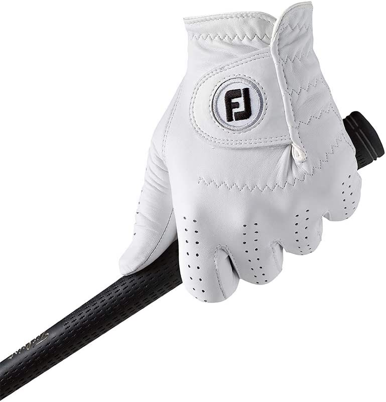 FootJoy CabrettaSof - Golf Gloves for Right Hand Color, White, Size XL