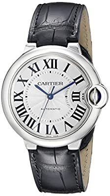Cartier Women's W69017Z4 Analog Display Swiss Automatic Black Watch