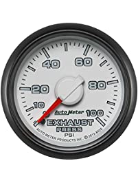 "Auto Meter (8526) Dodge Match 2-1/16"" 0-100 PSI Mechanical Exhaust Pressure Gauge"