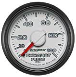 Auto Meter (8526) Dodge Match 2-1/16'' 0-100 PSI Mechanical Exhaust Pressure Gauge