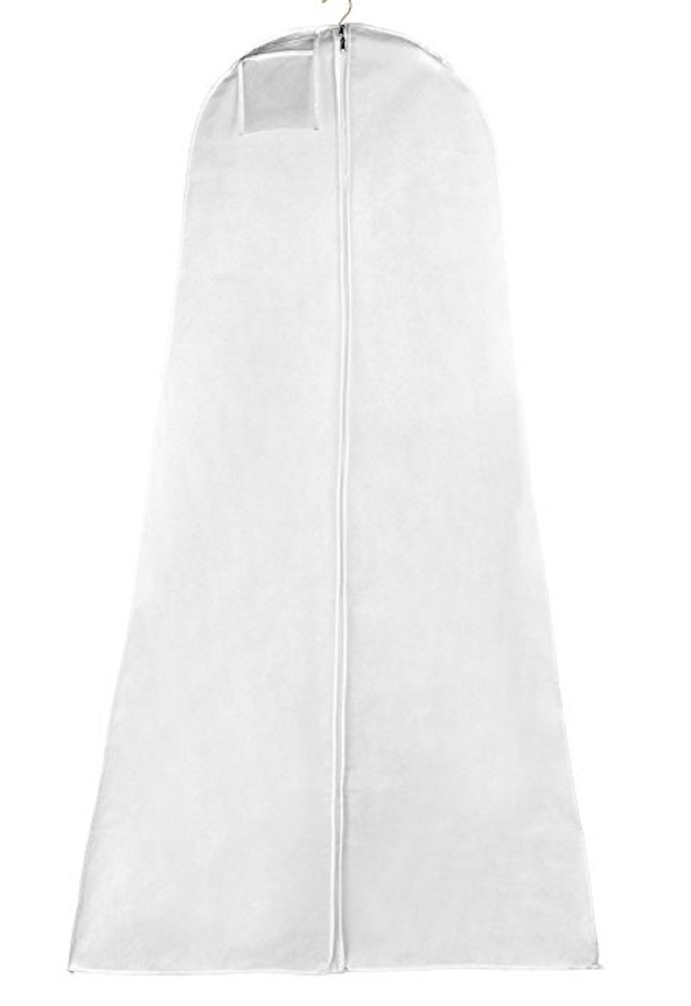 XLg Wht Breathable Wedding Bridal Gown Bag for Travel and Storage//Garment Bag 36x72x24gusset