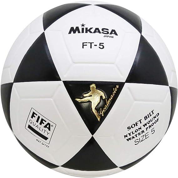 MIKASA Ft-5 Pro - Balón de fútbol, Color Negro y Blanco: Amazon.es: Deportes y aire libre