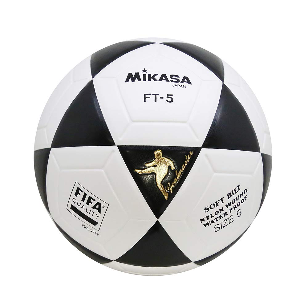 Mikasa Ft-5 Pro - Balón de fútbol, Color Negro y Blanco: Amazon.es ...