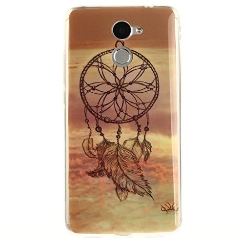 De De Huawei En Y7 Cas Cas Scratch Couverture Protection Souple Slim Résistant Prime Fit Motif Y7 Dreamcatcher Arrière Peint TPU Silicone Téléphone Hozor Transparent Bord Antichoc wAq1w