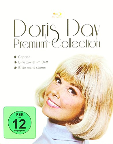 Doris Day - Premium Collection - 3-Disc Set ( Move Over, Darling / Caprice / Do Not Disturb ) ( Something's Gotta Give / Caprice / Don't Disturb ) [ Blu-Ray, Reg.A/B/C Import - Germany ] (Move Over Darling)