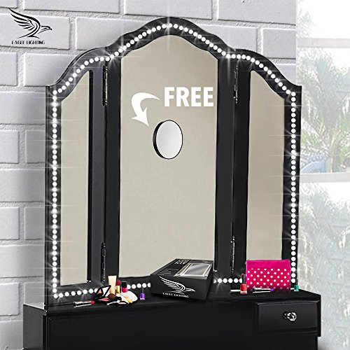 Vanity Lights With Free 10x Magnifying Mirror Hollywood
