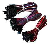 Geeetech 70cm 10pcs 2pin & 10pcs 3pin &10pcs 4pin Female-Female Jumper wires/Cables