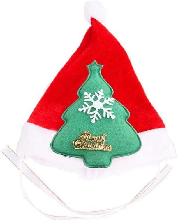 Hanime 1 Pieza Mascota Gato árbol de Navidad muñeco de Nieve Elk ...