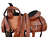 Orlov Hill Leather Co Cowgirl Roping Saddle Pleasure Horse Trail Work Working Horse TACK Set 15 16 17