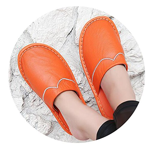 TELLW Orange Chaussons femme pour TELLW Chaussons 4xw4HqzTv