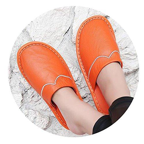 TELLW Chaussons pour pour Chaussons femme TELLW femme Orange tz4wpxTq