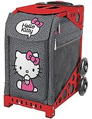 ZÜCA Sport Hello Kitty Leopard Rolling Bag