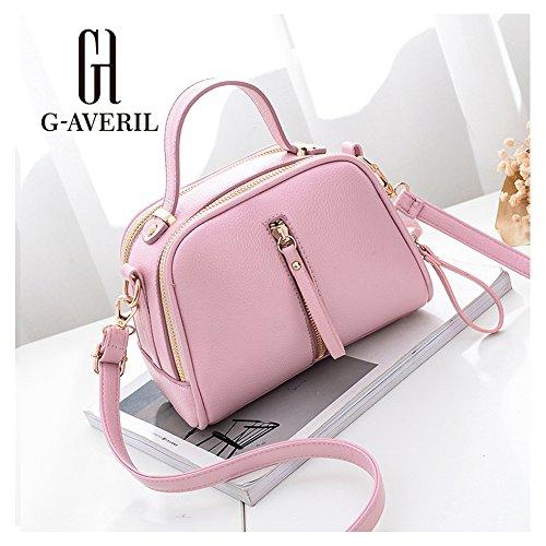 G-AVERIL - Bolso de asas para hombre morado morado rosa