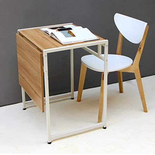 ZHAS Mesa Plegable/retráctil/Individual/Doble/Mesa de Comedor ...
