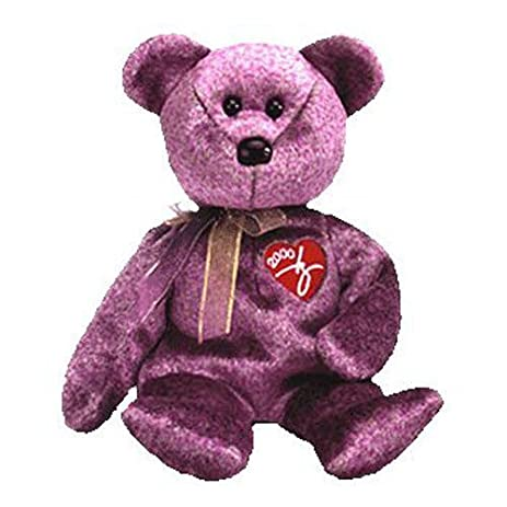 Image Unavailable. Image not available for. Color  (Ship from USA) TY  Beanie Baby - 2000 SIGNATURE BEAR ... afe61b719e6