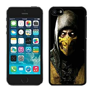 diy phone casePersonalized Case Easy Set Mortal Kombat X Scorpio Ninja Mask Case for ipod touch 4 in Blackdiy phone case