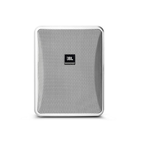 JBL Professional Control 25-1L Compact 8-Ohm Indoor/Outdoor Background/Foreground Speaker, White (Sold as Pair) (Control 25-1L-WH) (Jbl Control One Woofer)