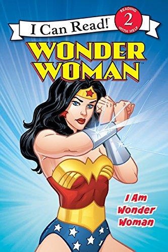 Wonder Woman Classic: I Am Wonder Woman (I Can Read Level 2) (Toy Wonders Inc)