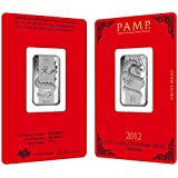 Amazon Com 1 Oz Pamp Suisse Year Of The Snake Silver Bar
