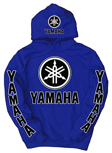 Yamaha Logo Hoodie, Large Blue for sale  Delivered anywhere in Canada