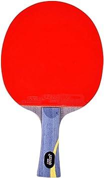 XGGYO Profesional Palas Tenis Mesa/Competencia Raquetas de Ping Pong Incluye Estuche de Murciélago/azul/mango largo: Amazon.es: Bricolaje y herramientas
