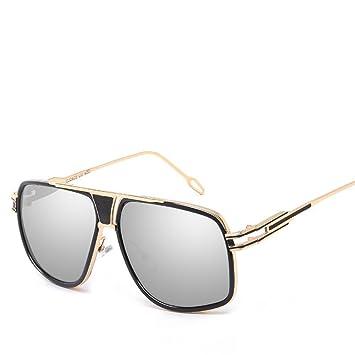 Aoligei Gafas de sol de gafas de sol moda tendencia grandes ...
