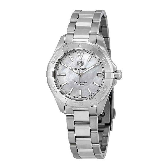 TAG Heuer Aquaracer Reloj de mujer cuarzo 32mm correa de acero WBD1311.BA0740