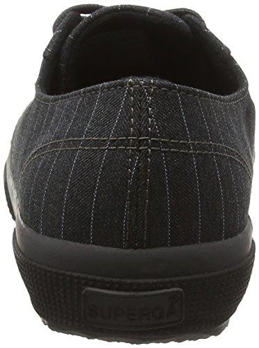 Superga 2750-fabric Pinstripefglm - Plataforma Hombre, Grey (004 Grey), 44