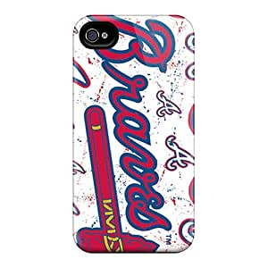 Iphone 6plus SiQ18530Tdpp Custom Lifelike Atlanta Braves Series Excellent Hard Phone Case -KennethKaczmarek