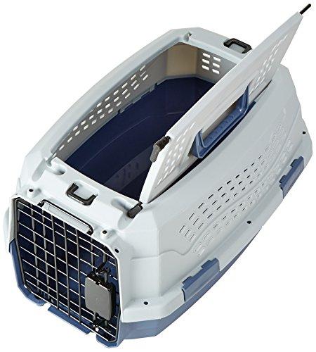 AmazonBasics-Two-Door-Top-Load-Pet-Kennel