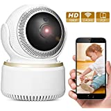 Wireless Security Camera, GBTIGER Wireless 1080P IP Camera, 2.0MP Indoor/Outdoor WiFi Home Security Surveillance Camera for Baby /Elder/ Pet/Nanny Monitor, Pan/Tilt, Two-Way Audio & Night Vision
