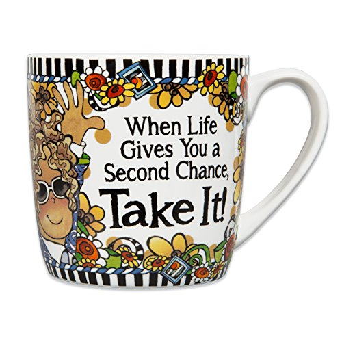 Brownlow Gifts Suzy Toronto Ceramic Mug, When Life Gives You A Second Chance