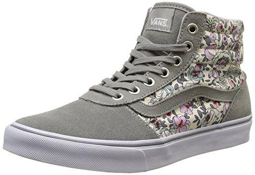 Vans Milton Hi Damen Sneaker Grau (vintage Floral/gray/lavender)