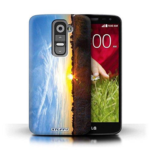 Kobalt® Imprimé Etui / Coque pour LG G2 Mini/D620 / Bleu ciel conception / Série Coucher du Soleil