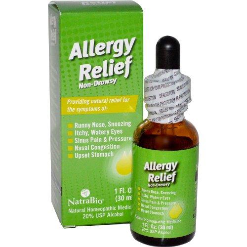 NatraBio Allergy Relief Non Drowsy