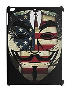 Anonymous Mask Logotype iPad air plastic case