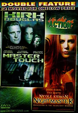 NIGHTMASTER+MASTER TOUCH[SLIM CASE][Nicole Kidman+Kirk Douglas][DOUBLE FEATURE] (Master Touch Dvd)