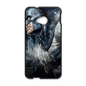 Happy Batman black Phone Case for HTC One M7 case