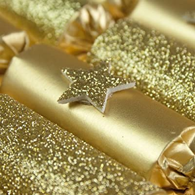 Pack de 8 x 6 pulgadas Mini dorado petardos de hojas: Fizzco ...
