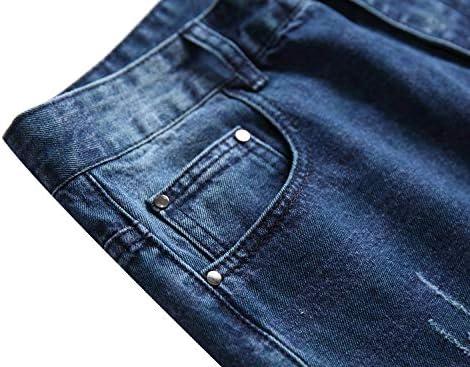 51aFBj3TlrL. AC LAMKUKU Men's Ripped Jeans Slim Fit Casual Distressed Denim Pants    Product Description