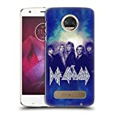 Official Def Leppard Hysteria Classic Photos Hard Back Case for Motorola Moto Z2 Play