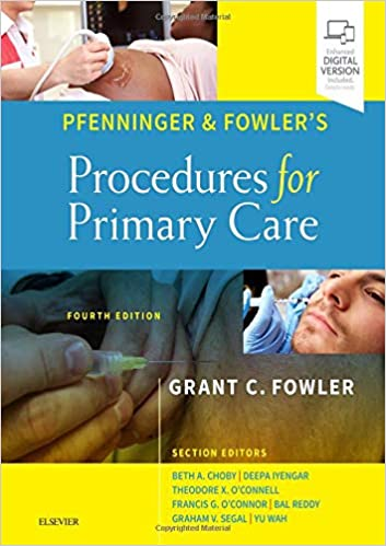 Pfenninger and Fowler's Procedures for Primary Care E-Book, 4th Edition - Original PDF