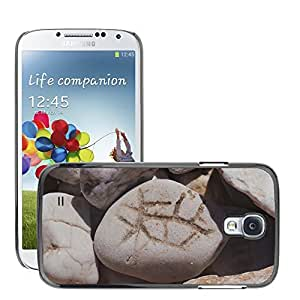 Hot Style Cell Phone PC Hard Case Cover // M00308716 Stones Characters Mark Scribing // Samsung Galaxy S4 S IV SIV i9500