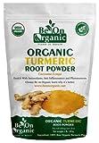Kyпить Organic Turmeric Root Powder 14 Ounce Resealable Bag w/5% Curcumin By Be On Organic на Amazon.com
