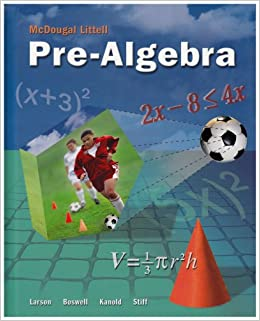 McDougal Littell Pre-Algebra, Student Edition Download Pdf