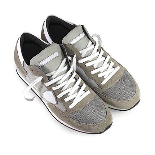 Philippe Model Scarpe da Uomo Sneaker Tropez Basic Grigio/Bianco Primavera Estate 2018 Orden Del Espacio De Salida Venta Precios Baratos Venta Barata Wiki d6P1k2