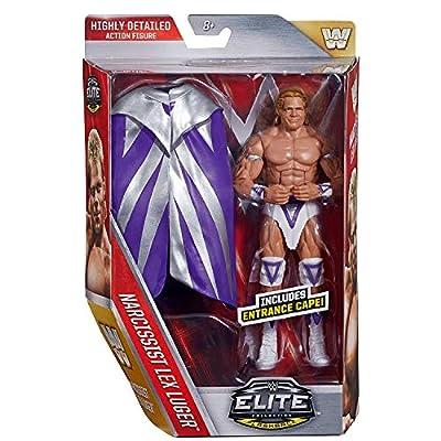WWE Elite Flashback Narcissist Lex Luger Figure: Toys & Games