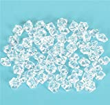 CLEAR ACRYLIC ICE BULK, Case of 3