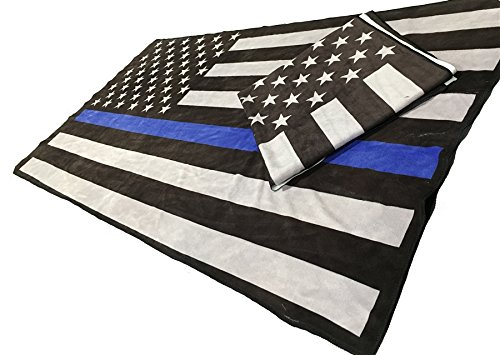 American Thin Blue Beach Towel product image
